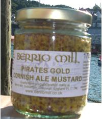 Cornish Ale Mustard Pirates Gold 170g
