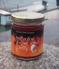 Cornish Chilli Company Hell Fire Pepper Jelly