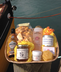 Cornish Honey Lovers Pamper Hamper