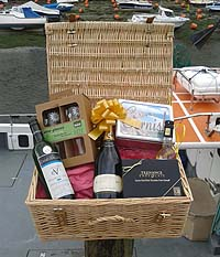 Purely Cornish Proper Luxury Hamper (Important add a message before you add to cart.)