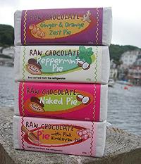 Cornish Raw Chocolate Pie 60g