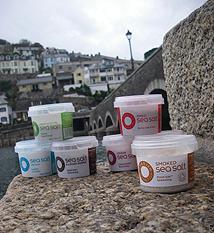 Cornish Sea Salt Pinch Pots