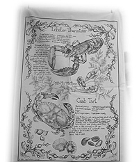 Cornish Gift Tea Towel of Cornish Recipes