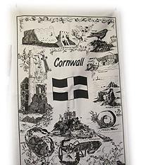 Cornish Gift Tea Towel of Cornish Heritage