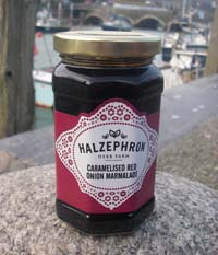 Cornish Caramelised Red Onion Marmalade from Halzephron