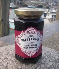 Apple & Garlic Chutney from Halzephron