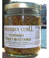 Cornish Honey Mustard 170g