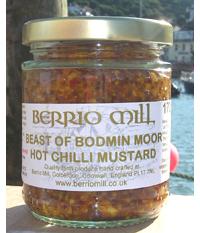 Beast of Bodmin Moor Hot Chilli Mustard 170g