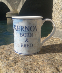 Cornish Mugs Dunoon 'Kernow Born and Bred
