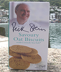 Rick Stein's Savoury Oat Biscuits with Cornish Sea Salt 170g