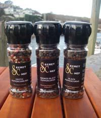 Cornish Secret Chef Pepper Mills