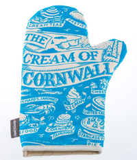 Cream of Cornwall Oven Glove
