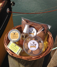 Cornish Doggie Pamper Hamper (Important add a message before you add to cart.)
