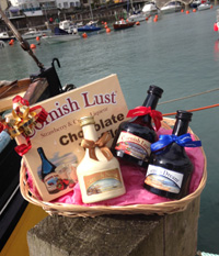 Cornish Lust Hamper (Important add a message before you add to cart.)