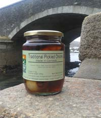 Cornish Pickled Onions