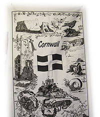 Cornish Gift Tea Towel of Cornish Heritage