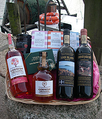 Purely Cornish 'Duloe' Christmas Hamper (Important add a message before you add to cart.)
