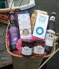 Purely Cornish Hannafore Hamper (Important add a message before you add to cart.)