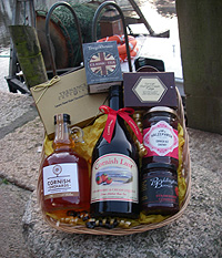 Purely Cornish 'Herodsfoot' Hamper (Important add a message before you add to cart.)
