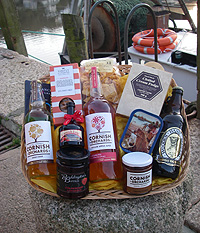 Purely Cornish 'Looe Christmas Hamper'  (Important add a message before you add to cart.)