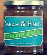 Sarah & Finns Cider Apple Relish 300g