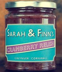 Sarah & Finns Cranberry Relish 300g