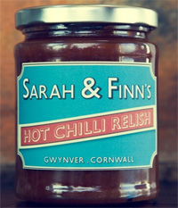 Sarah & Finns Chilli Relish's 300g