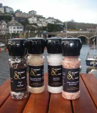 Cornish Secret Chef Gourmet Salts