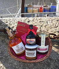 Purely Cornish 'Looe' Hamper (Important add a message before you add to cart.)