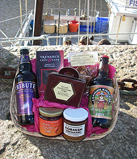 Purely Cornish 'Polperro' Hamper (Important add a message before you add to cart.)