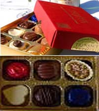 Chocolate Made in Cornwall 6 Assorted Boxed Chocolates