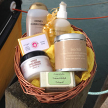 Cornish Gifts, Tea towels, Candles and Pamper Hampers